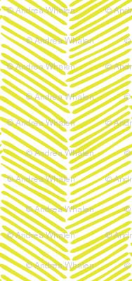 Freeform Arrows Large in citron