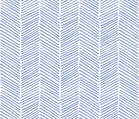 Freeform Arrows Large in denim fabric by domesticate on Spoonflower - custom fabric