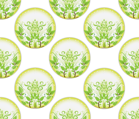 Terrarium fabric by colleen_currans_bush on Spoonflower - custom fabric