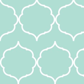 damask offset mint