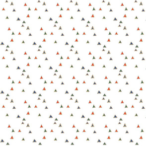 Peppered Triangles - White