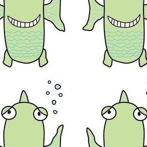Happy Fish: Lime