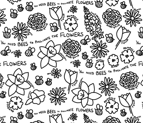 flower_colouring_book