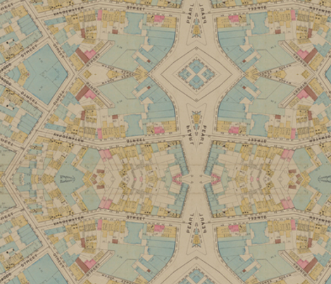 City Squares / Map Pixelation