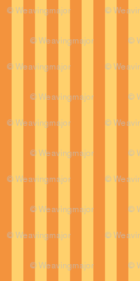 narrow saffron stripes