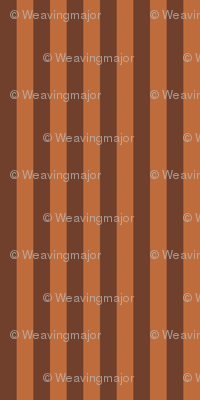 narrow bronze stripes