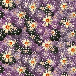 violet cacti