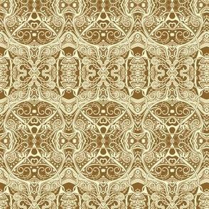 Persian Crawl in sepia shades