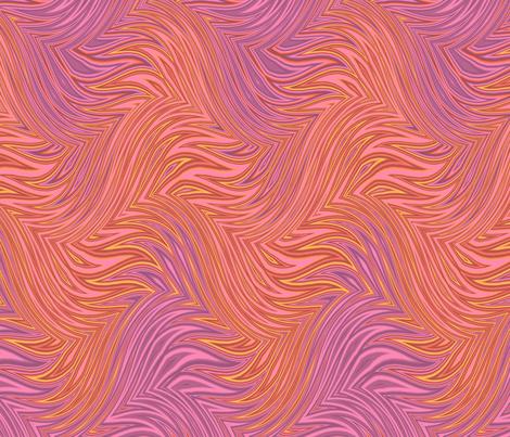magenta flame swirl