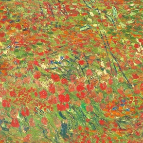 Van Gogh's Field with Poppies