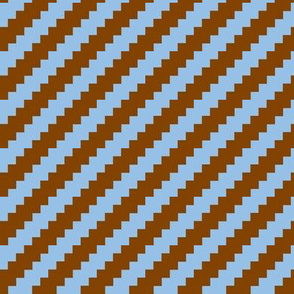 pixel chevron-blue-brown