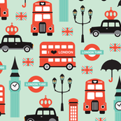 London city travel icon