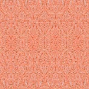 Coral Brocade