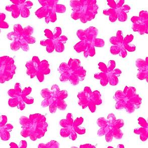 Flowering In Pink
