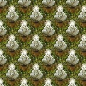 Cannabis Buddah Fabric