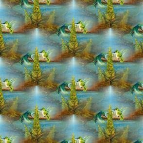 """Hummingbirds and Lemon Mazar"""