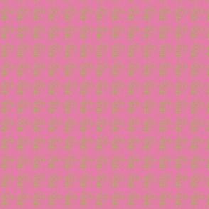 Sugar Skull dk pink