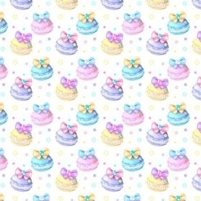 macaron Kawaii Pastels with Bows and Bling