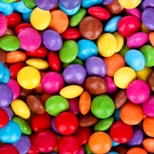 Smarties Chocolate Repeating Pattern Large