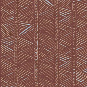 Ghana Panel in Brown