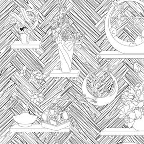 Wall_of_Ikebana