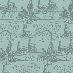 Year of the Bicycle - Slate on Grey