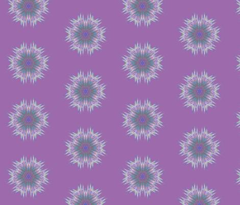 Abstract 336 Purple Kaleidoscope