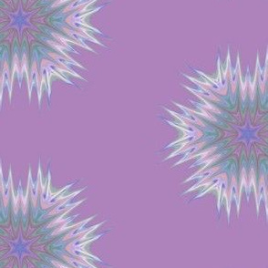 Abstract 336 Purple Kaleidoscope