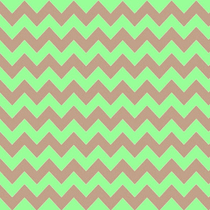 MINT CHOCOLATE CHEVRON
