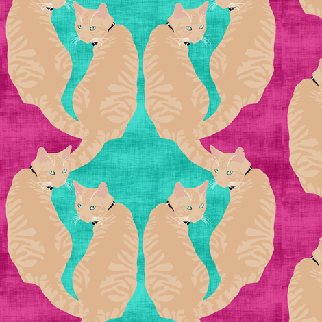 Over the Shoulder Scallop fabric by pond_ripple on Spoonflower - custom fabric