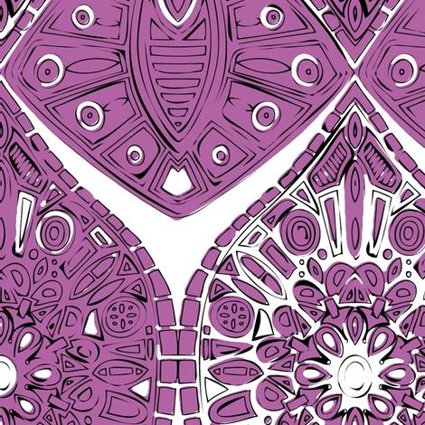 saffreya orchid fabric by scrummy on Spoonflower - custom fabric