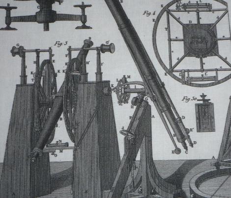 astronomy instruments white