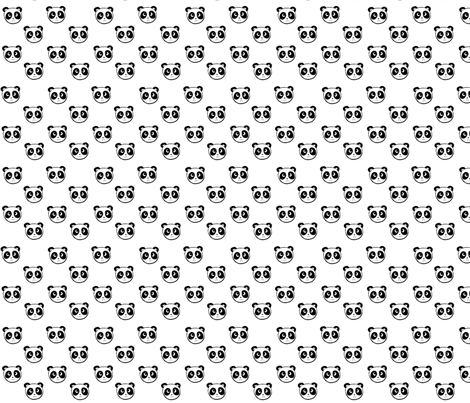panda_fabric fabric by patrigarcía on Spoonflower - custom fabric