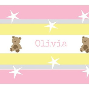 Stars & Stripes-pinkDark personalized