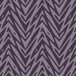 Feather Zigzag in Midsummer Night