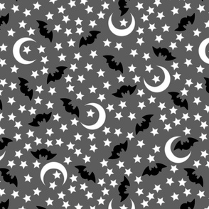 Grey Night Bloom Bats- large