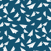 Busy Paper Airplanes