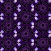 Deep Purple Spirograph