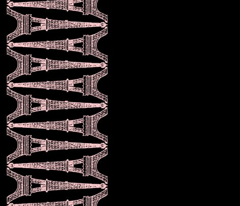 Rparis___eiffel_for_you___black_and_pink___reverse___border_print___peacoquette_designs___copyright_2014_shop_preview