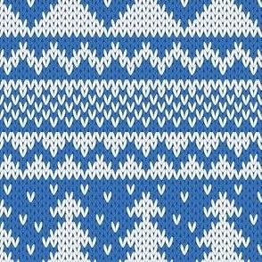 Knit Christmas Tree Sweater