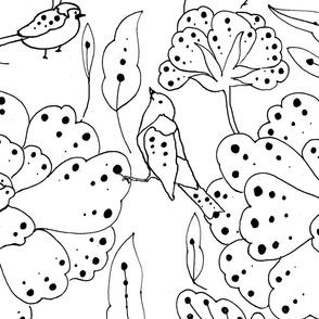 floraldotpenpattern