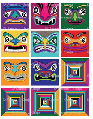 Totem Faces
