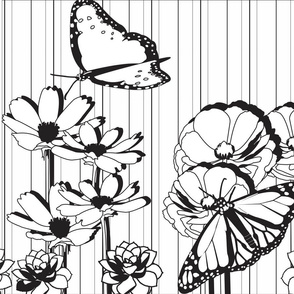 Floral_Coloring_book_Wallpaper