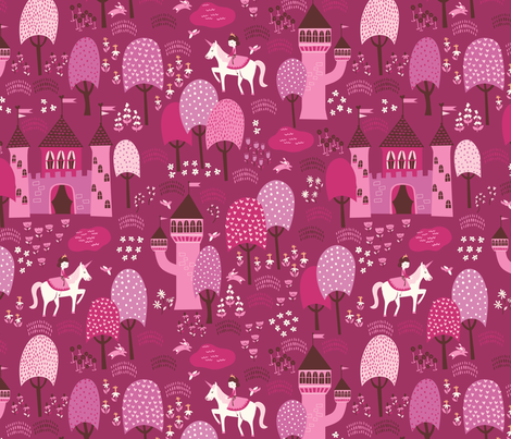 Enchanted_Forest fabric by stacyiesthsu on Spoonflower - custom fabric