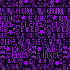 starsblackpurpleChanel