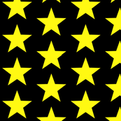 Large Yellow Stars