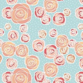 Blushing Mint Garden