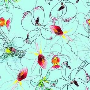 Sketchy Floral 1