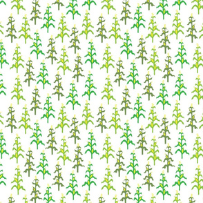 Retro corn field pattern