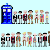 "A Dozen Doctors Who 56"" (color variation)"
